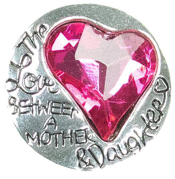 Mother/Daughter Snap Charm