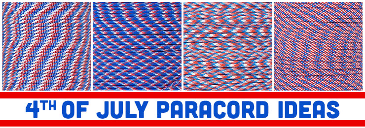 4th of July Paracord Ideas