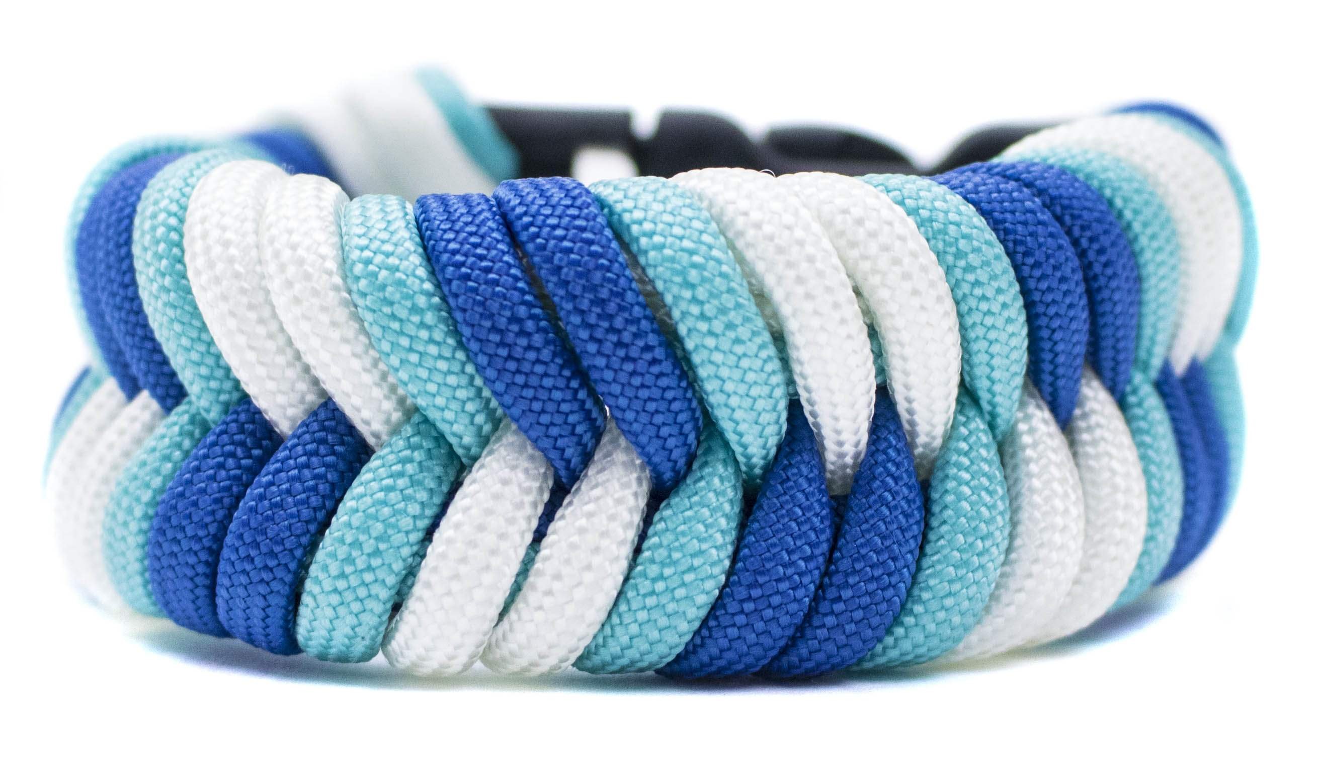 How to make a fishtail bracelet with paracord