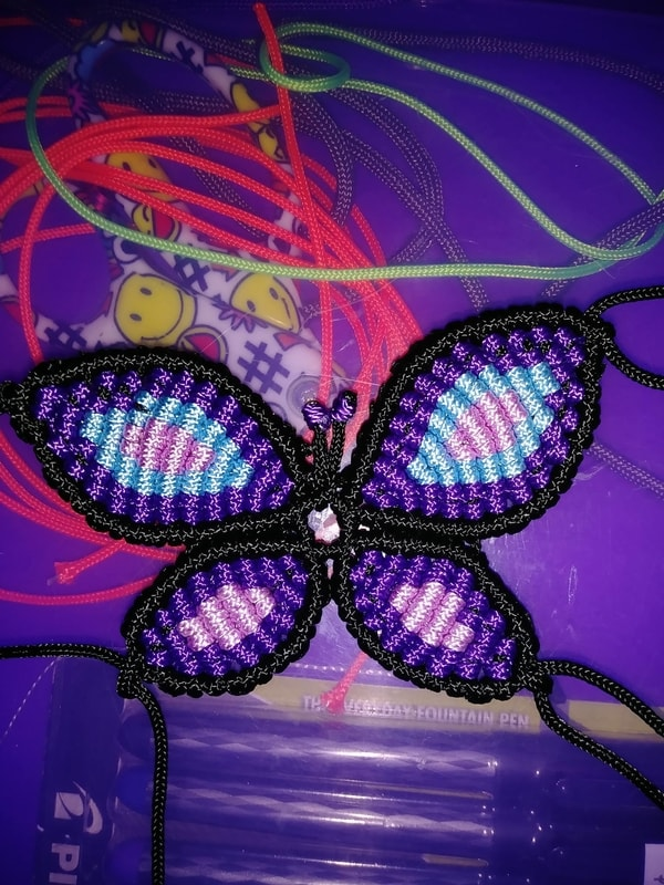 Paracord Macrame Butterfly