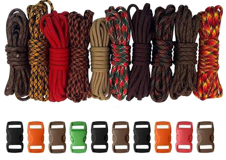 Autumn Paracord Combo Kit for back to school blog