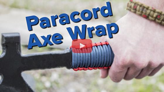 Paracord Axe Handle Wrap Tutorial Video