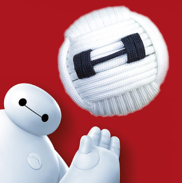 Baymax monkey fist