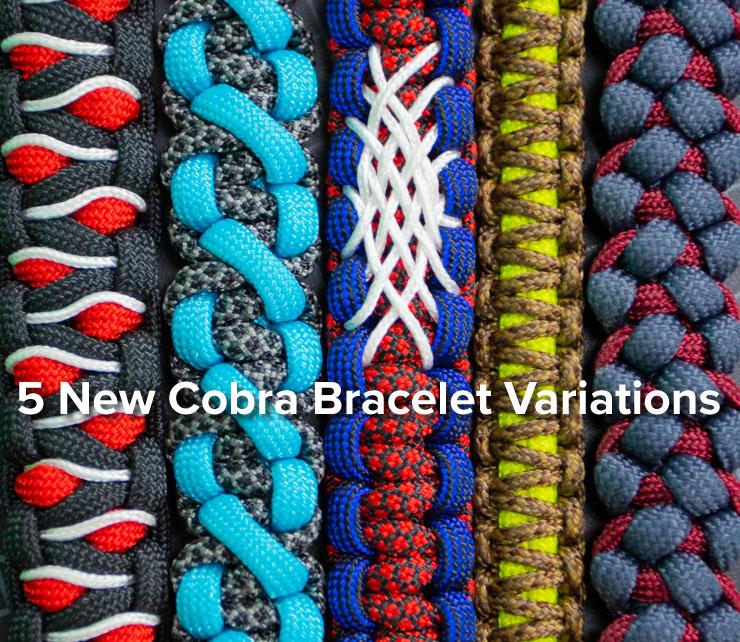 5 cobra bracelet weaves
