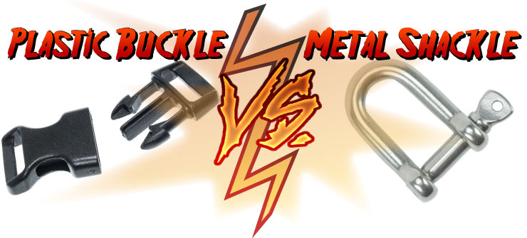 buckle versus shackle title