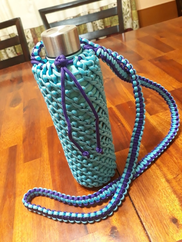 Paracord Waterbottle Sling