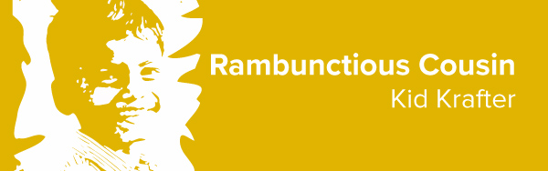 Rambunctious Cousin—Kid Crafter