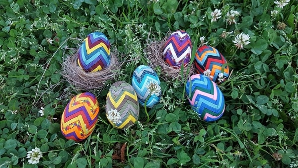 Paracord Easter Eggs