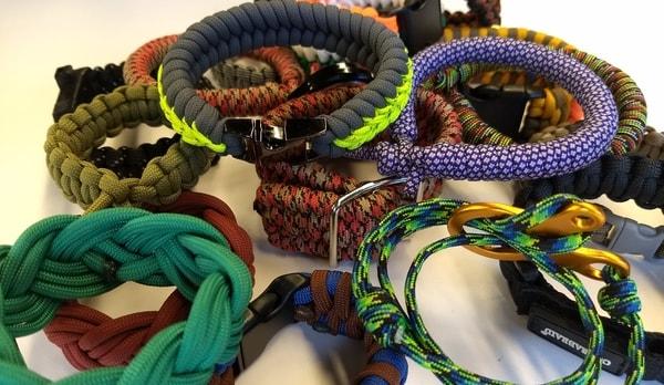 Paracord Bracelet Varieties