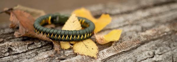 simple fall colors bracelet