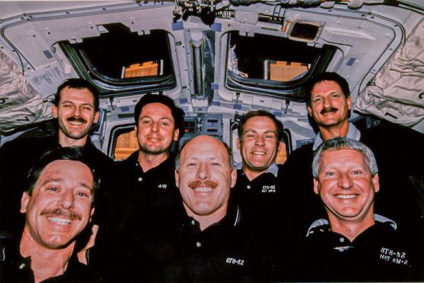 Hubble repair crew