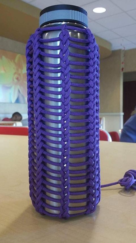 Waterbottle weave