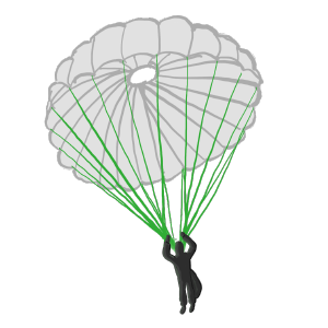 paracord paratrooper