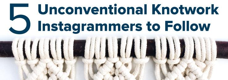 Unconventional knotwork title