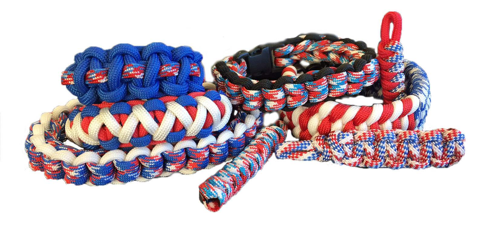 Patriotic Paracord Projects