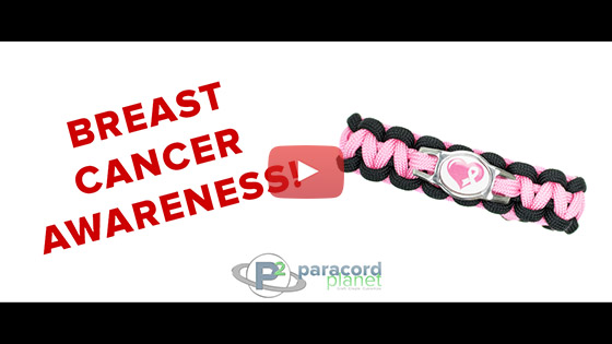 Breast Cancer Awareness Charm Tutorial