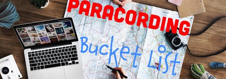Paracord Bucket List