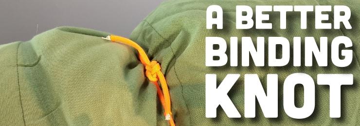 Better binding knot title