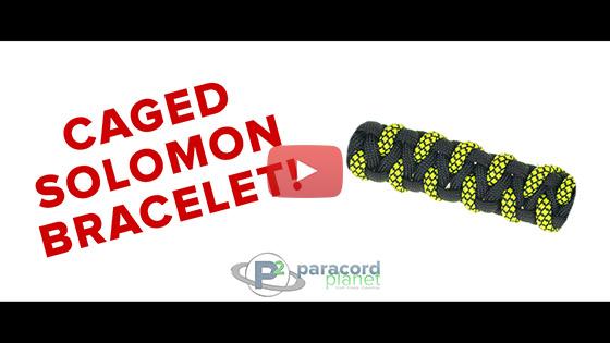 Caged Solomon Paracord Bracelet