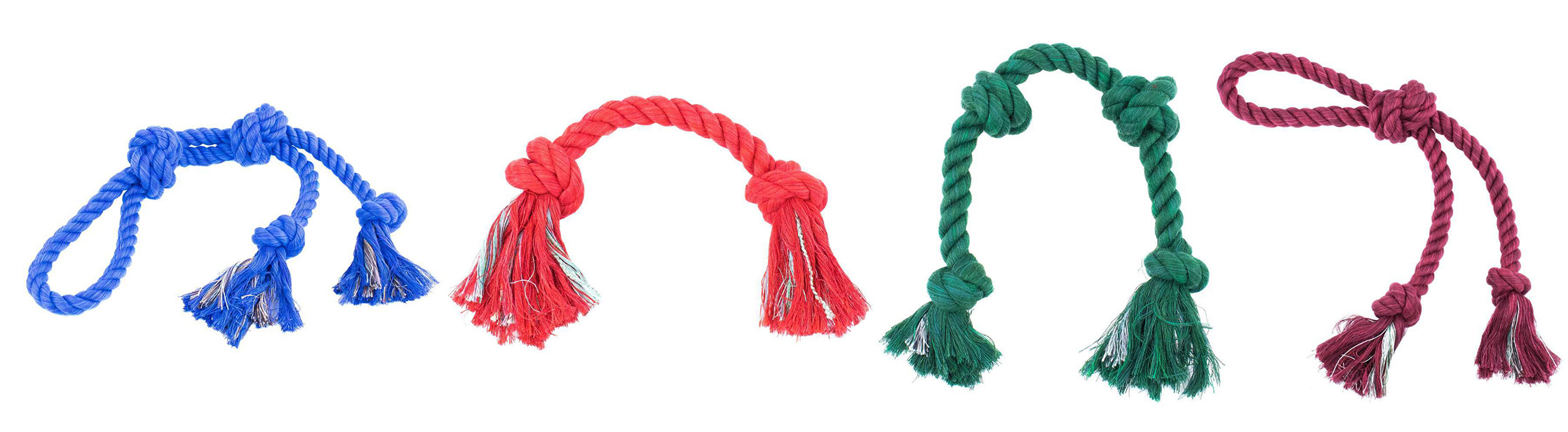Knotted Rope Tug Toy for Pets
