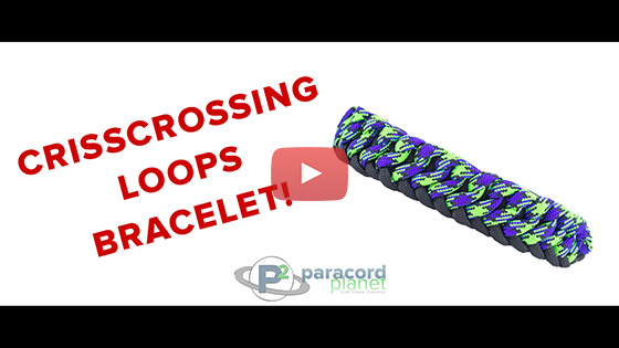 Crisscrossing Loops Bracelet Tutorial
