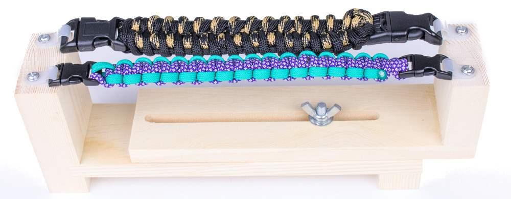 Kit de tressage pour 2 bracelets paracorde