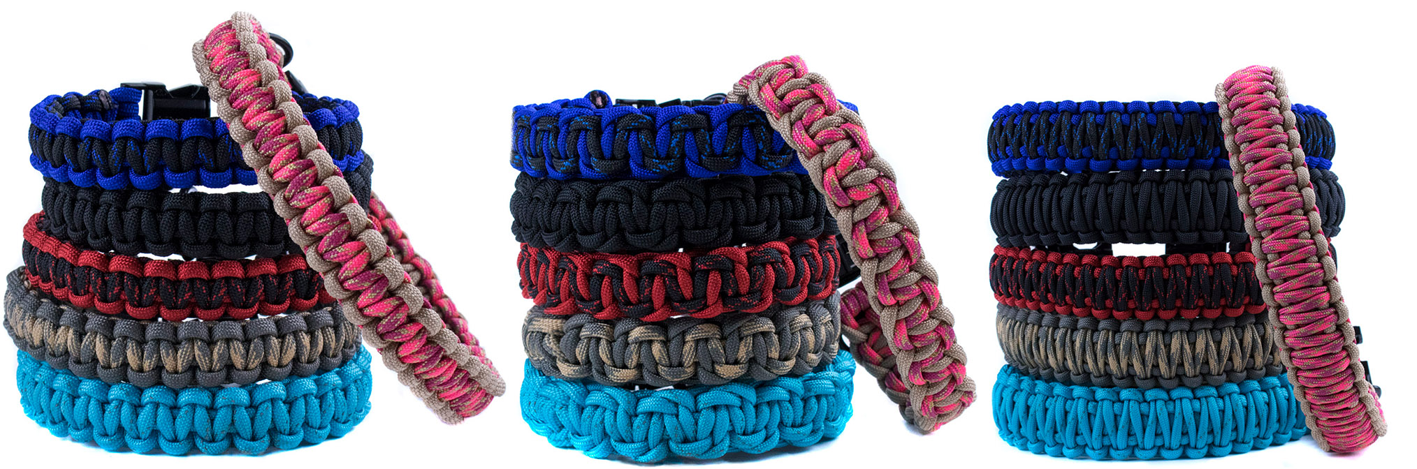 Paracord Dog Collars