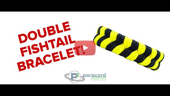 Double Fishtail Bracelet Tutorial