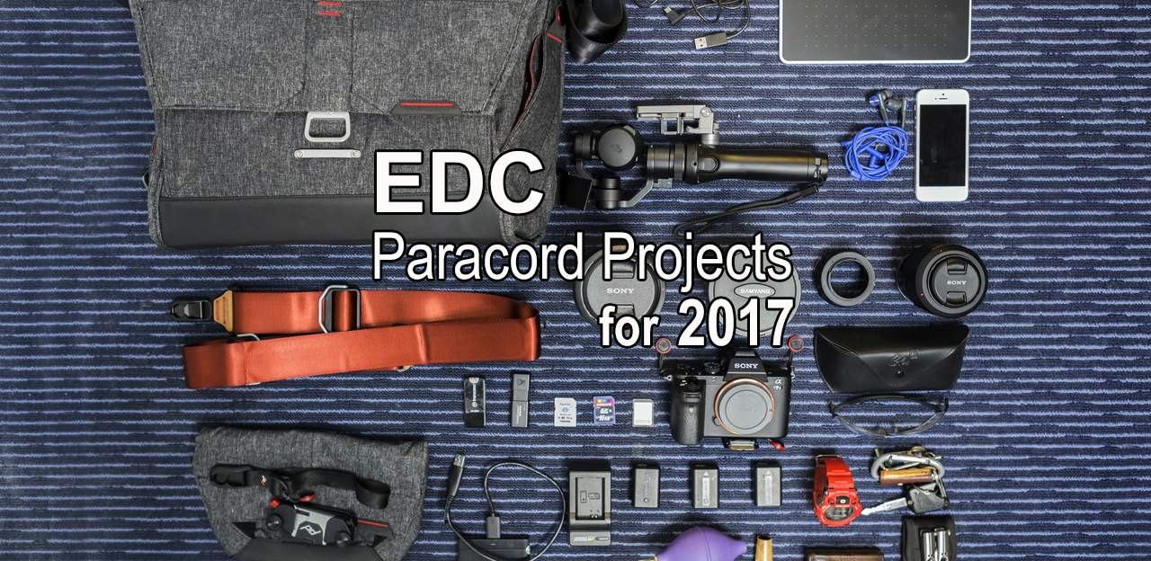 EDC Paracord Projects