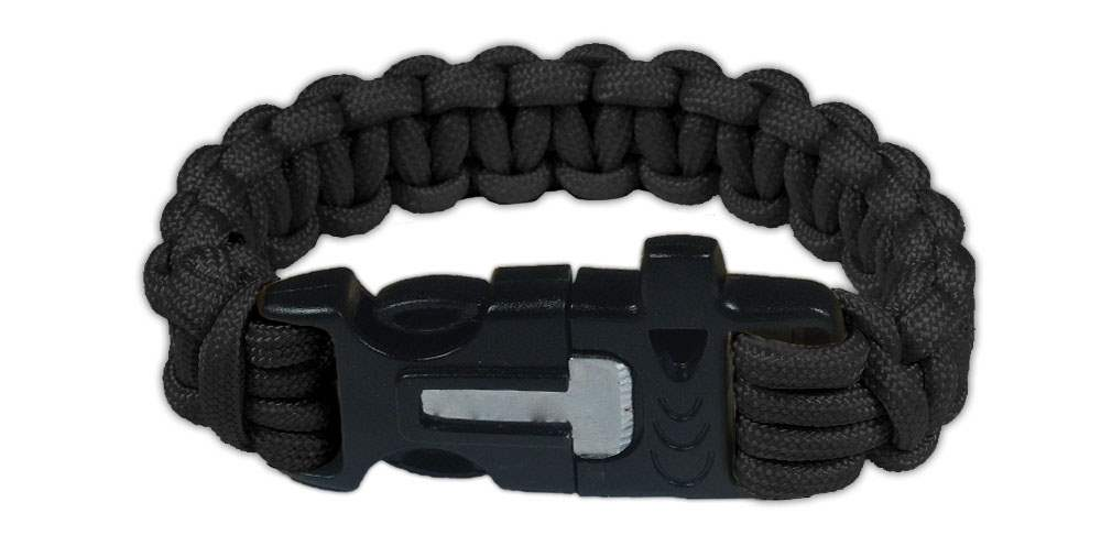 Paracord Bracelet with Emergency Buckle