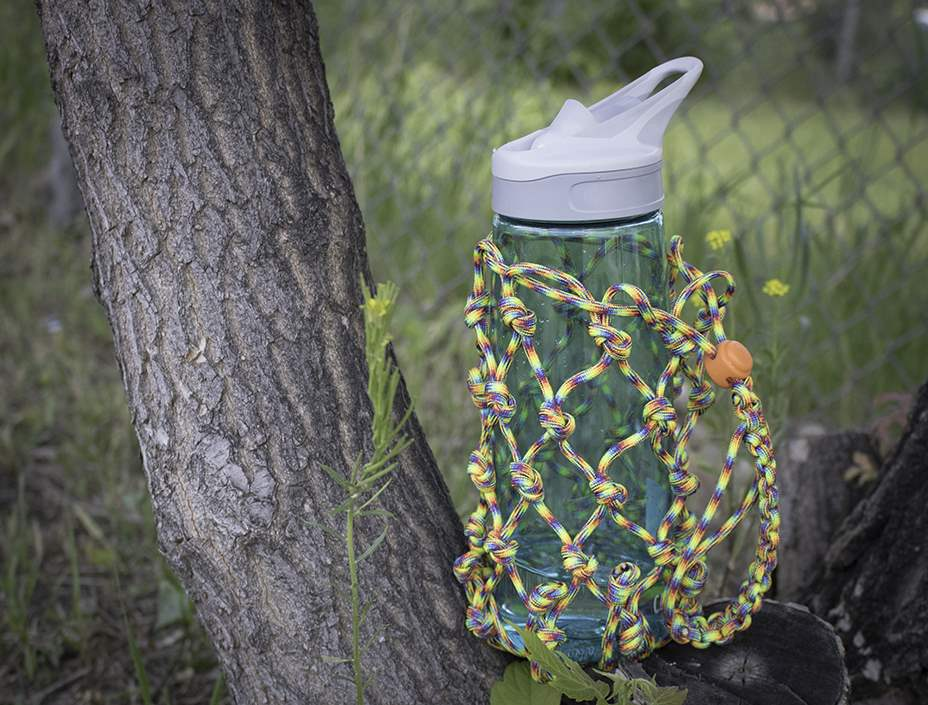 Paracord Water Bottle Wrap