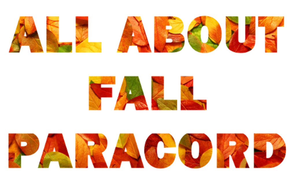 All about fall paraocord