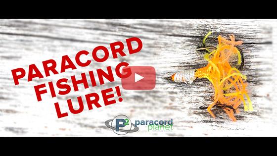Paracord Fishing Lure Tutorial