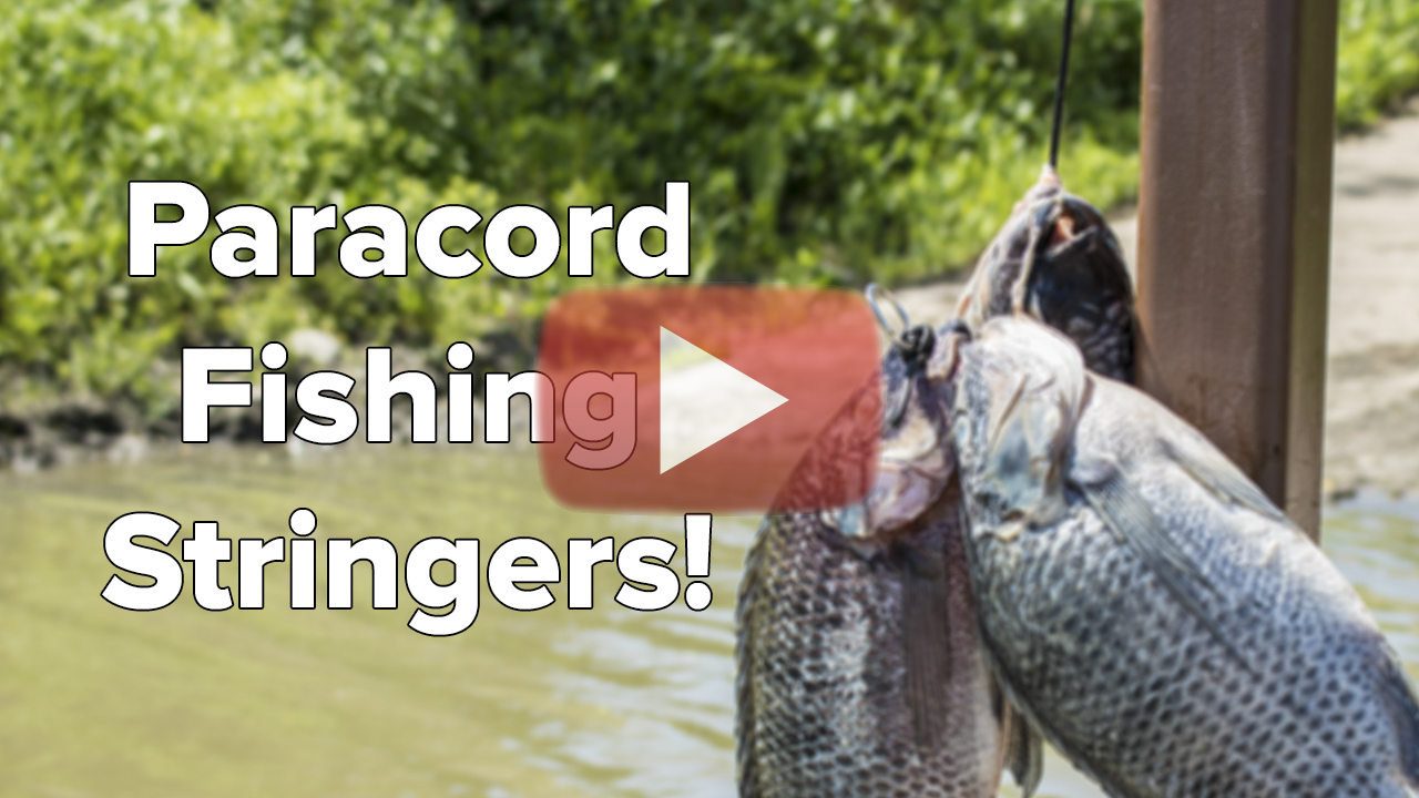 A Closer Look At Paracord Fishing Stringers - Paracord Planet