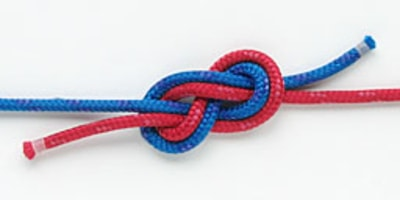 Square knots are not bends.