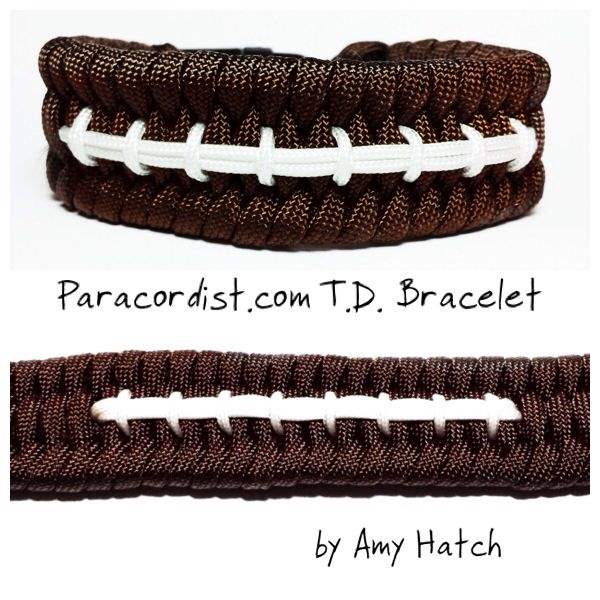 Touchdown with Paracord