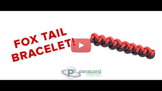 Foxtail Paracord Bracelet