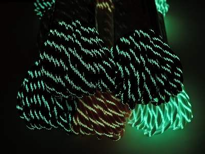 Paracord with Glow in the Dark Tracers