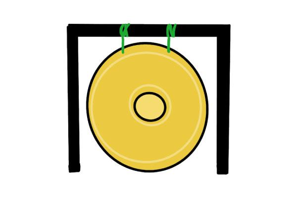 paracord gong repair