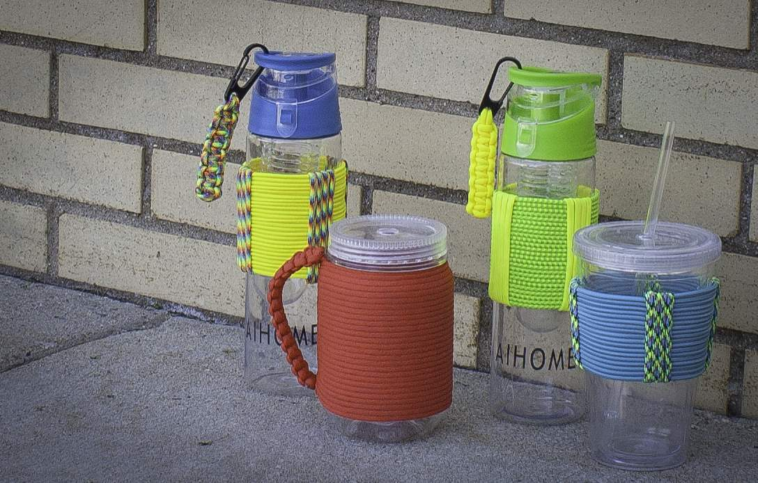 Paracord Cup Sleeves