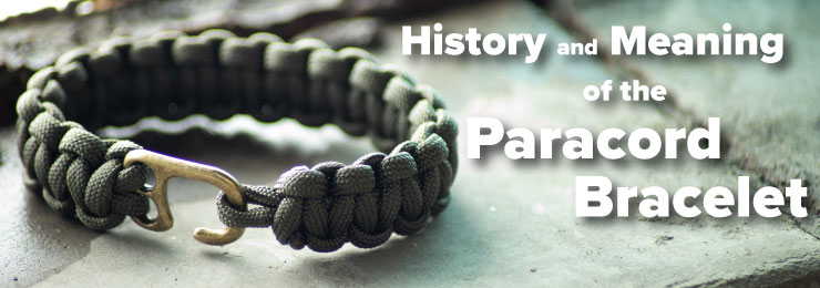 history and meaning of paracord bracelet