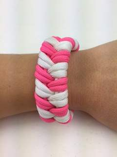 Double Fishtail Paracord Bracelet