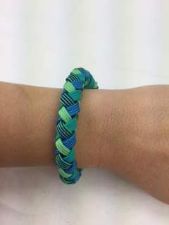 Four Strand Braid Paracord Bracelet