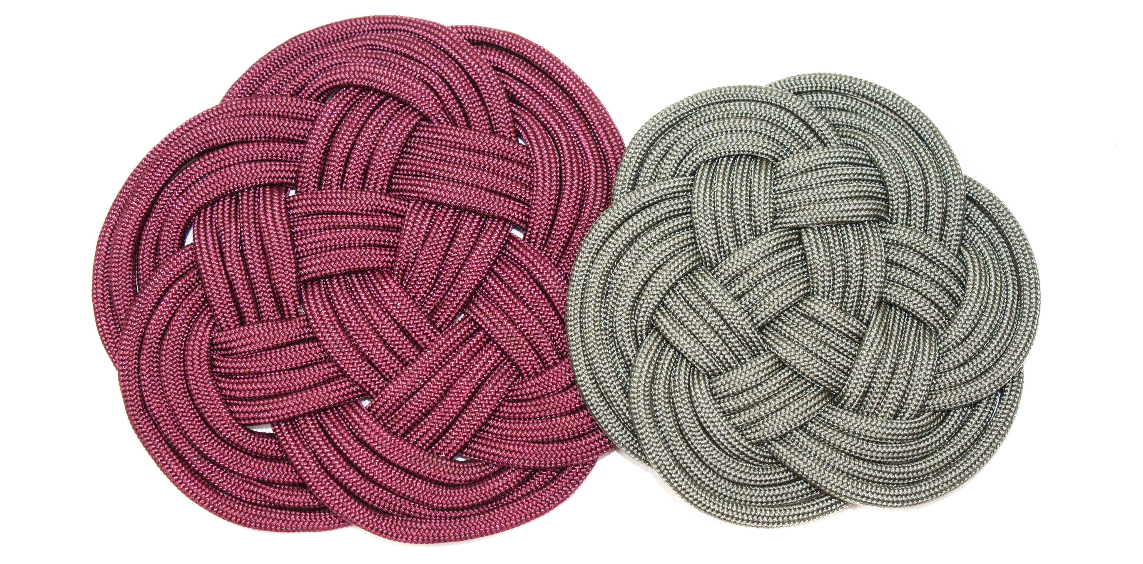 Paracord Turk's Head Coaster