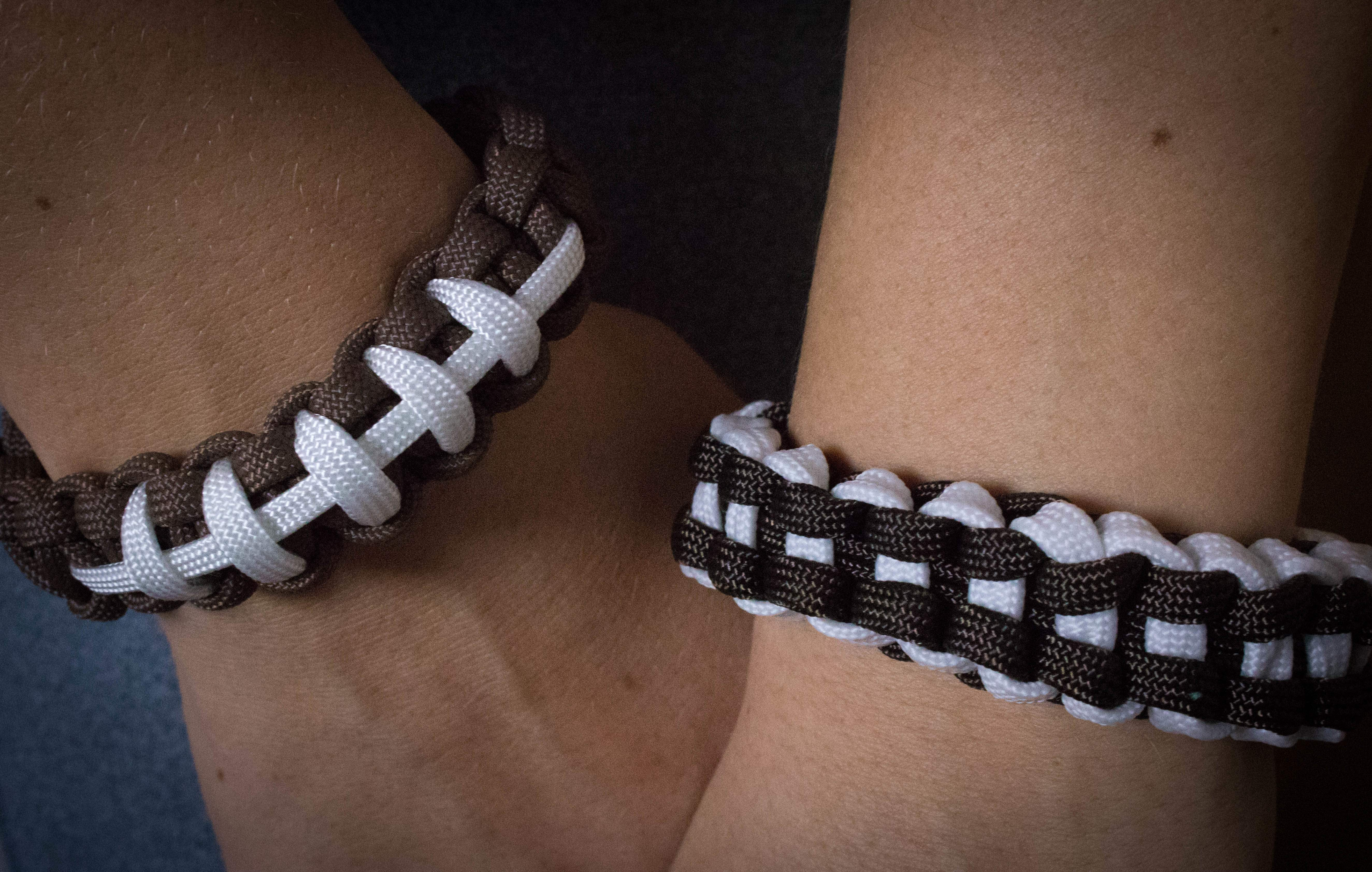 Football Paracord Bracelets