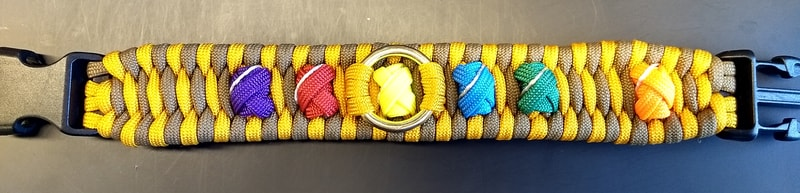 Finished bracelet