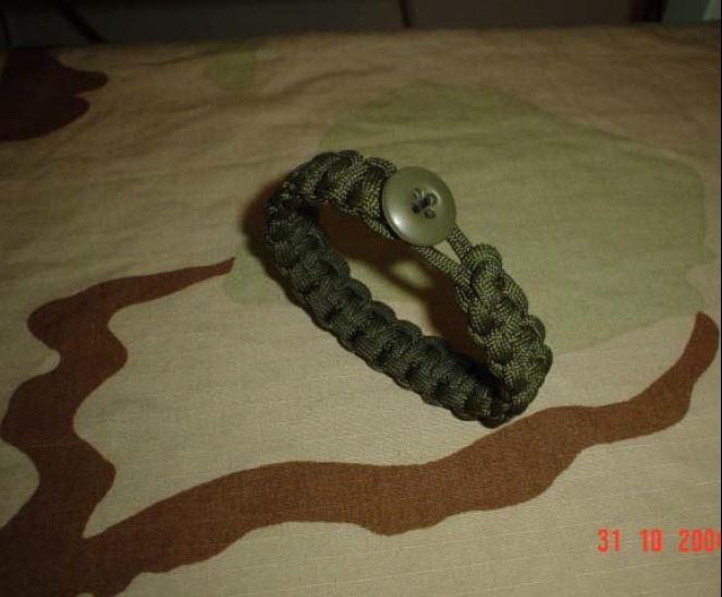 First paracord bracelet