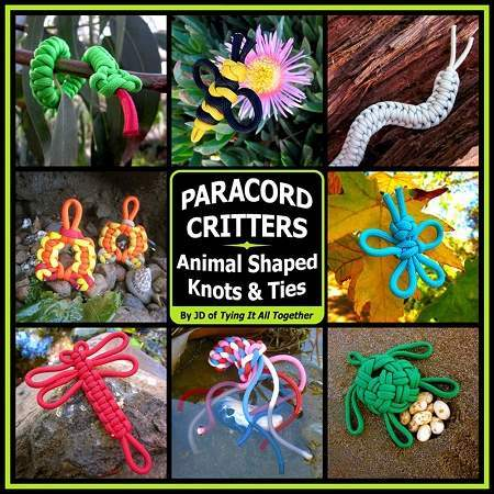 Paracord Critters for back to school blog
