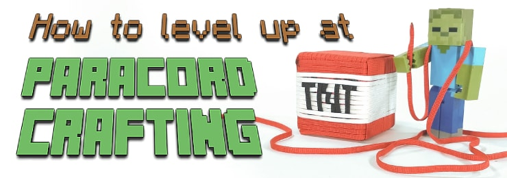 Level Up at Paracording title
