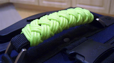 Paracord Luggage Handle Wrap